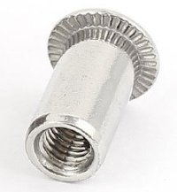 M6x1.0 18-8 Stainless Steel Extension Nut