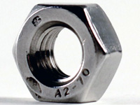 M6x1.0 18-8 Stainless Steel Hex Nut
