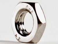 M6x1.0 18-8 Stainless Steel Jam Nut